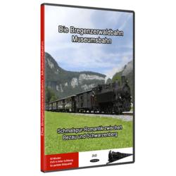 Die Bregenzerwaldbahn Museumsbahn Blu-ray/DVD