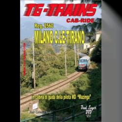 Führerstandsmitfahrt Milano C.le-Tirano