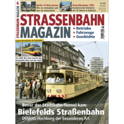 Straßenbahn Magazin 06/20