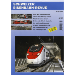 Schweizer Eisenbahn-Revue 8-9 - 2020
