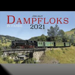 Dampfloks in Farbe Kalender 2021