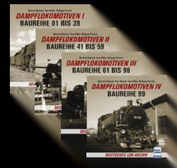 Deutsches Lok-Archiv - Dampflokomotiven I t/m IV