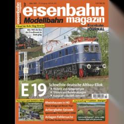 eisenbahn magazin 03/21