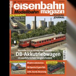 eisenbahn magazin 04/21