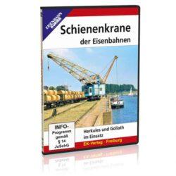 DVD - Schienenkrane der Eisenbahnen