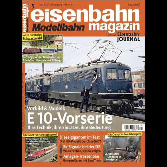 eisenbahn magazin 05/21