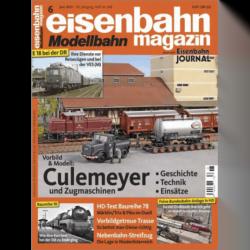 eisenbahn magazin 06/21