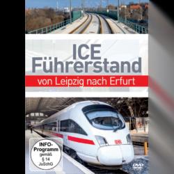ICE Führerstand - Von Leipzig nach Erfurt (1 DVD)