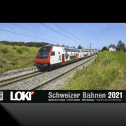 LOKI Kalender Schweizer Bahnen 2021