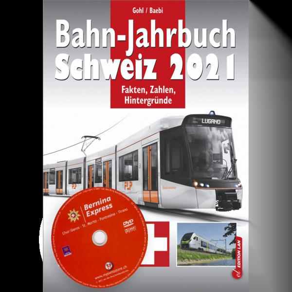 Bahn-Jahrbuch Schweiz 2021