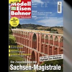 Modelleisenbahner 07/21