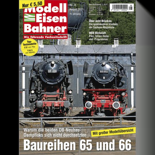 Modelleisenbahner 08/21