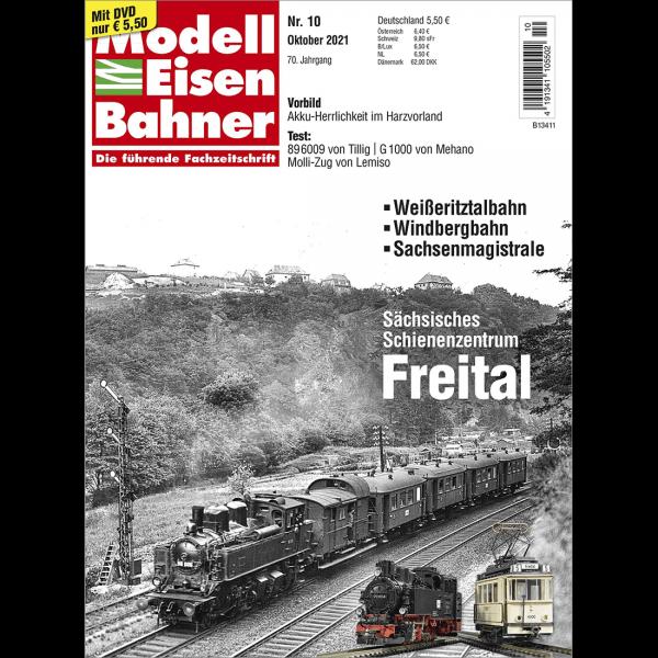 Modelleisenbahner 10/21