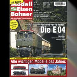 Modelleisenbahner 04/21