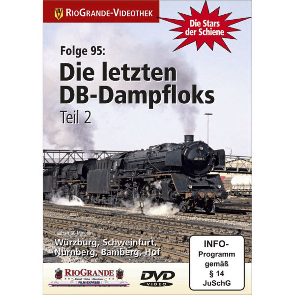 Die letzten DB-Dampfloks Teil 2